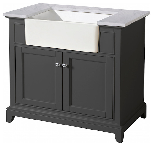stufurhome helanah 36 quot farmhouse apron single sink