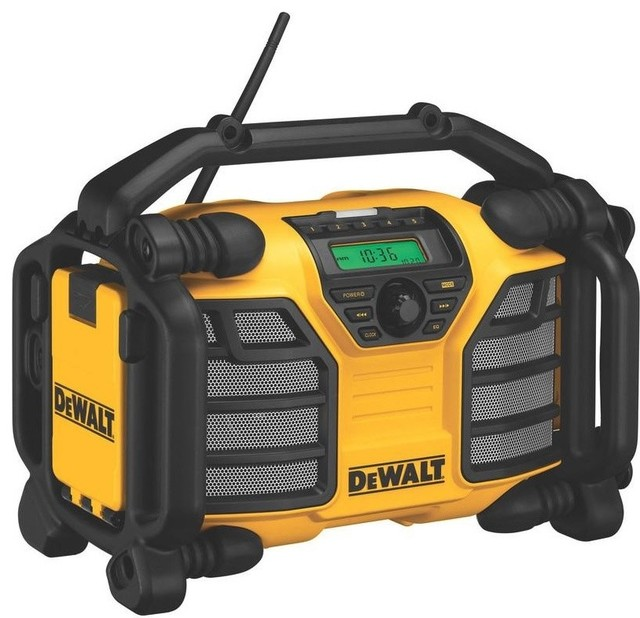 Dcr015 Worksite Charger/Radio - Contemporary - Power Tools - by BuilderDepot, Inc.