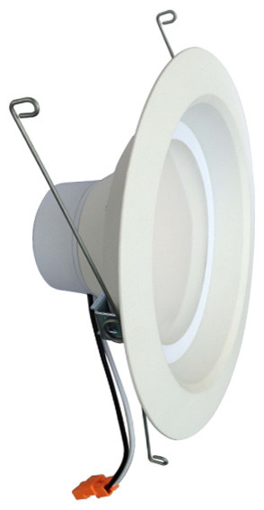 Led Recessed Lighting Kit 5000k : Quot k dimmable led recessed can light contemporary