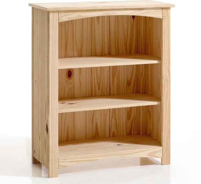Bibus pin massif perrine contemporain biblioth que - La redoute meuble bibliotheque ...