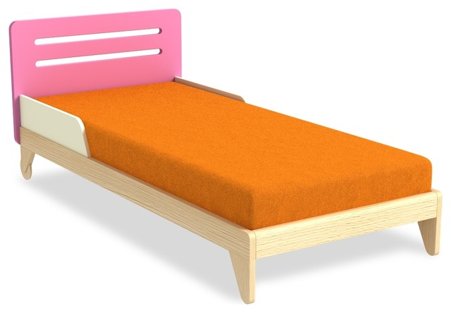 jugendbett simple pink. Black Bedroom Furniture Sets. Home Design Ideas