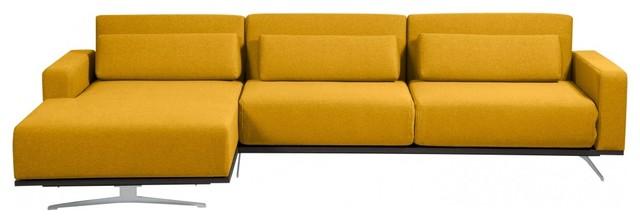 ecksofa copperfield senfgelb rechts contemporaneo futon di fashion4home gmbh. Black Bedroom Furniture Sets. Home Design Ideas