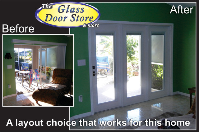 doors to replace sliding glass doors - Eclectic - tampa - by The Glass ...