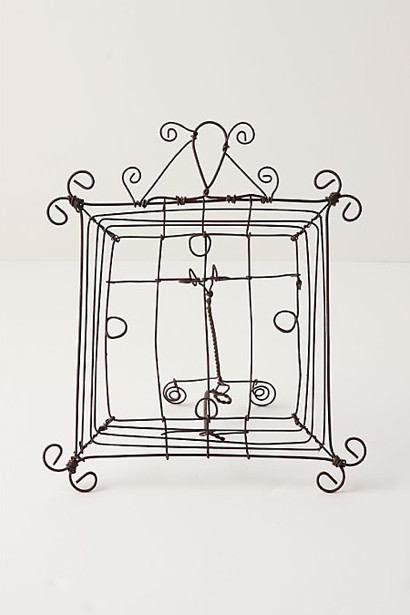 small jardin wire frame - eclectic - picture frames