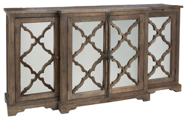glass sideboard cabinet 3