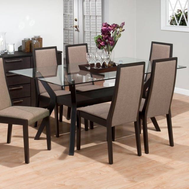 Jofran Midtown Rectangular Dining Table Multicolor  : contemporary dining tables from houzz.com size 640 x 640 jpeg 84kB