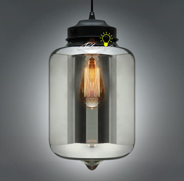 YC Niche Smoke Crystal Pendant Lighting