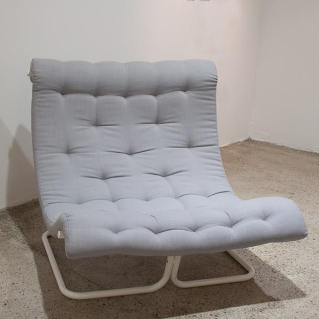 Butaca toad asiento y respaldo acolchado en una pieza - Sillones contemporaneos ...