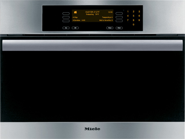 miele combi steam oven modern by luxe kitchens. Black Bedroom Furniture Sets. Home Design Ideas