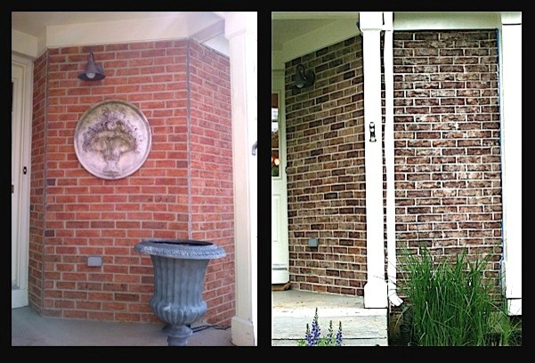 Crystal Lake IL Exterior Brick Staining Project Traditional Chicago By