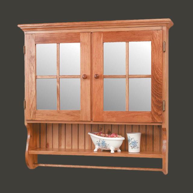 Medicine Cabinets Honey Pine Double Medicine Cabinet | 154014 - Transitional - Medicine Cabinets ...