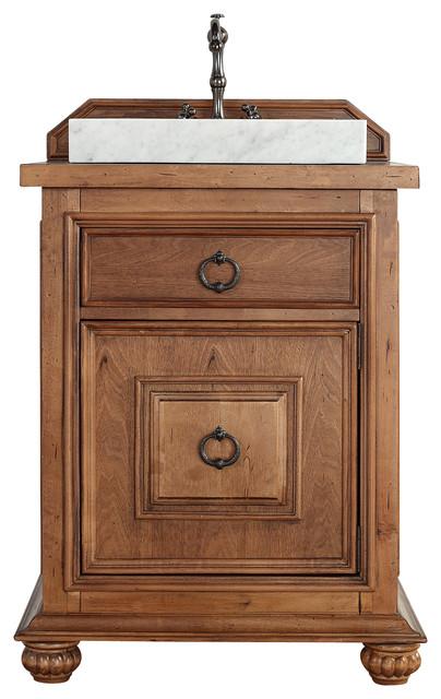 Mykonos 26 Cinnamon Single Vanity Rustic Bathroom Vanities And Sink