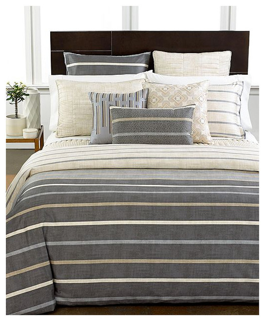 Hotel Collection Modern Colonnade Duvet Cover