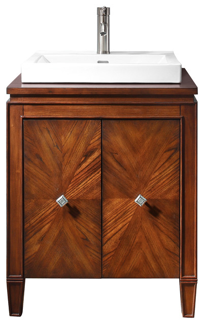Brentwood Vanity Combo Contemporary Bathroom Vanities