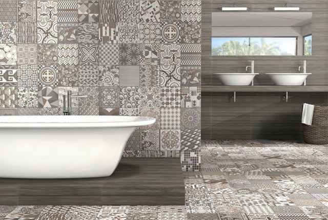 Small Bathroom Moroccan Tiles Beautiful Wet Room With Inspired Walls And Floors Mediterranean