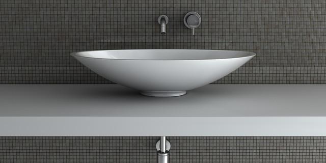 Modern White Unique Bathroom Sink By Maestrobath Modern