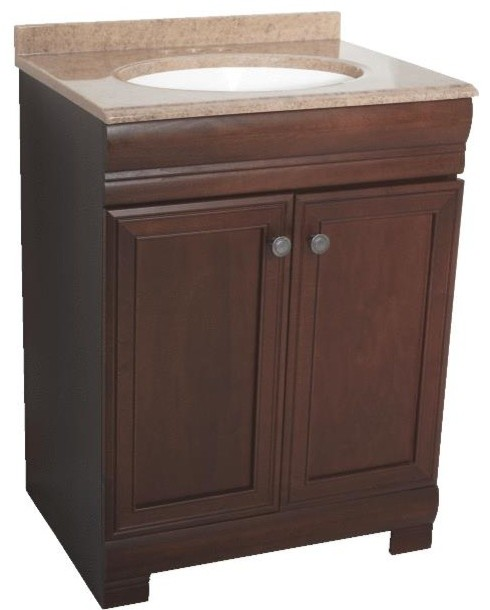 Westbrook Vanity Base Top Combo 24x18x32 Traditional
