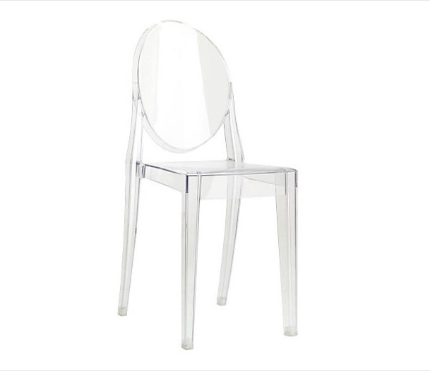 victoria ghost chair by philippe starck for kartell design within reach modern dining. Black Bedroom Furniture Sets. Home Design Ideas
