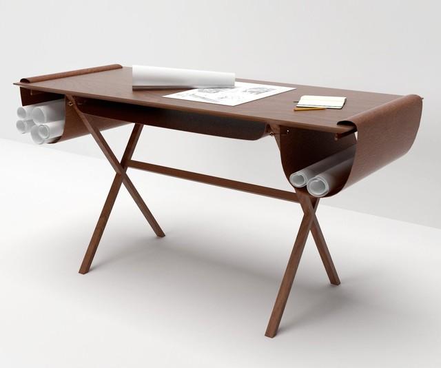 valsecchi 1918 schreibtisch oscar modern schreibtische. Black Bedroom Furniture Sets. Home Design Ideas