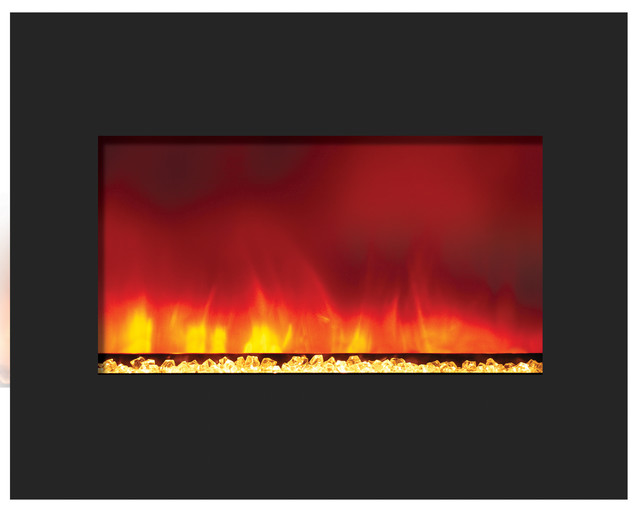 Zero Clearance Electric Fireplace Contemporary Indoor Fireplaces By Shop Chimney