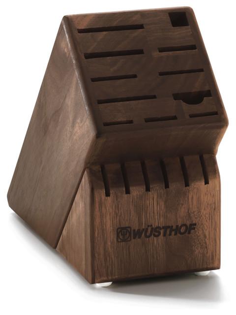 17 slot wusthof knife block