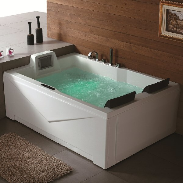 Aquapeutics Putnam Whirlpool Tub Modern Bathtubs By