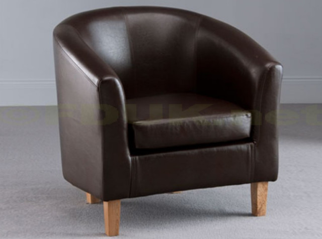 Leather Armchair Modern Armchairs Accent Chairs London By Furni
