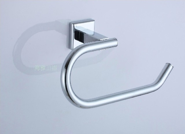 Bathroom Accessories Stainless Steel Chrome Finish Towel Ring 7810 Contemporary Towel Rings