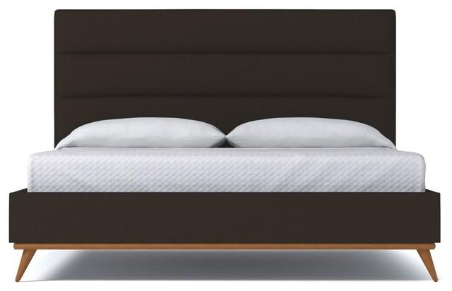 Cooper Upholstered Bed From Kyle Schuneman Espresso Espresso Eastern