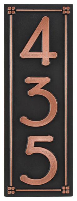 frank lloyd eaglefeather plaque 7 5 x 18 in copper. Black Bedroom Furniture Sets. Home Design Ideas