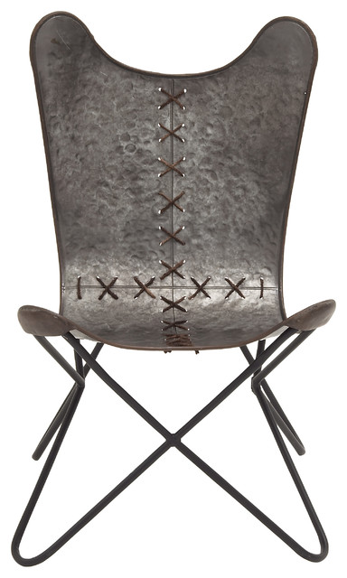 Beautiful And Unique Inspired Style Metal Stitched Chair
