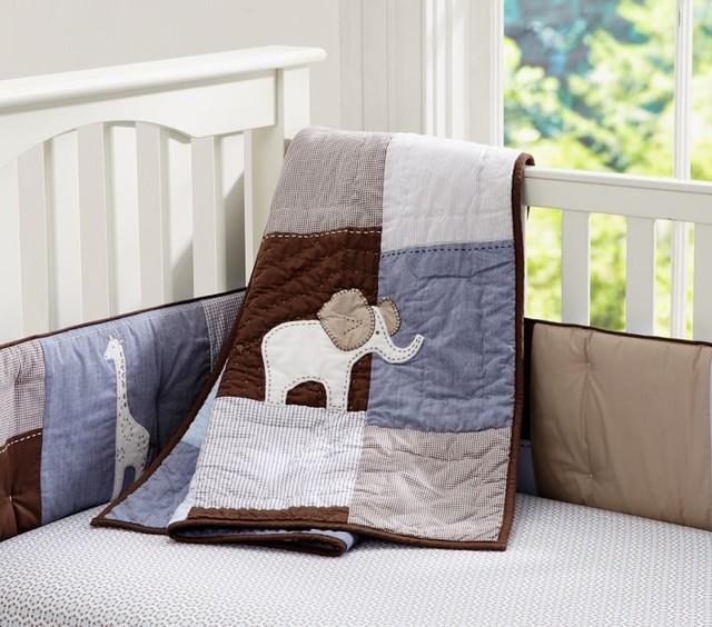 Bradley Organic Nursery Bedding Modern Baby Bedding