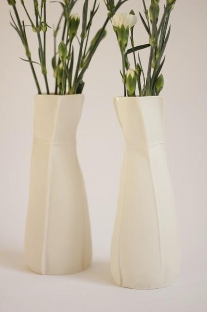 Kawa vases modern vases new york by souda for Modern home decor vases