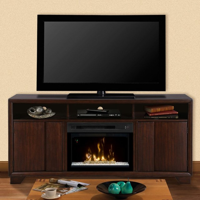 Dimplex arkell entertainment center electric fireplace gds25ld 1412aw contemporary indoor - Contemporary electric fireplaces entertainment center ...