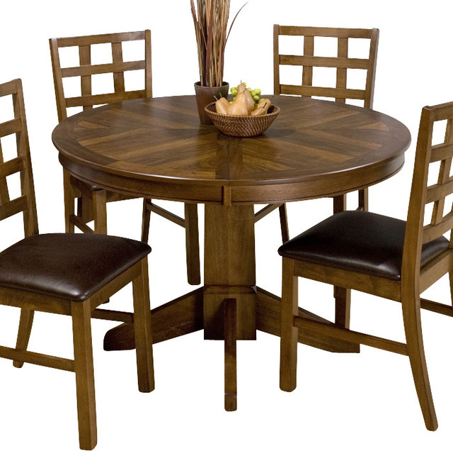 round butterfly leaf dining table 1