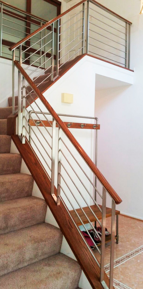 Befor and After railing. What do you think?