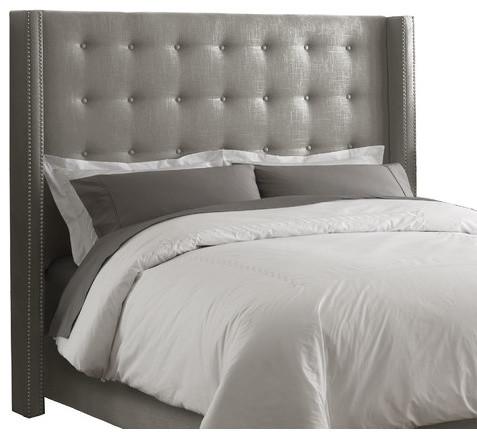 skyline furniture wingback bed  roselawnlutheran, Headboard designs