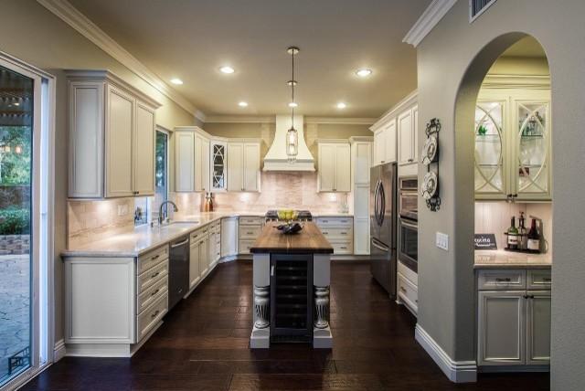 Kitchen irvine for Grandi case cabinate