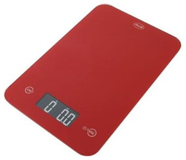Thin Digital Kitchen Scale Red Modern Kitchen Scales By BuilderDepot Inc