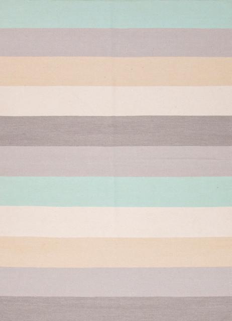 Flat-Weave Stripe Patt...