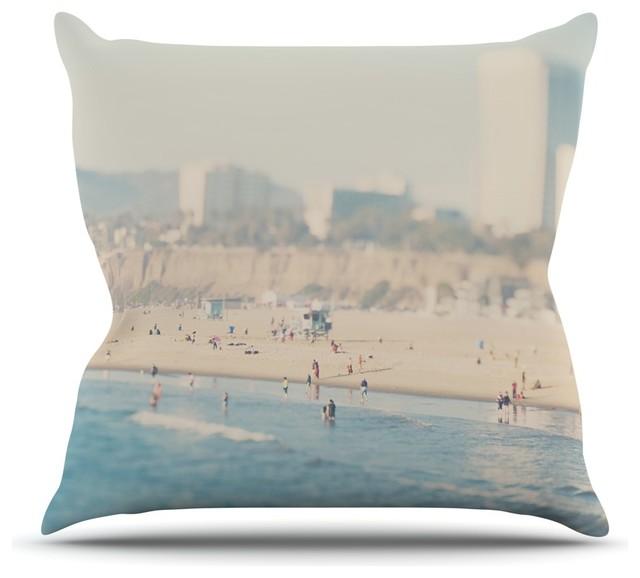 Modern Beach Pillows : Laura Evans
