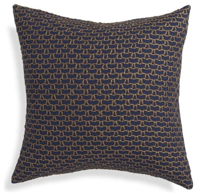 Decorative Pillows Indigo : Maddox Indigo Blue 18