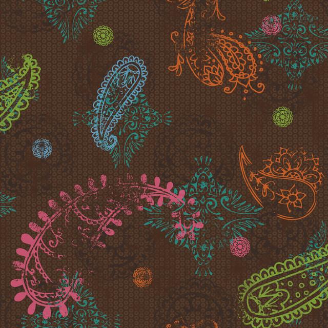 Wallpaper For Tween Girls: Dk6025 Tween Disney Paisley Kids Girl Paisley Wallpaper