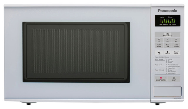 ... NN-ST253WQPQ Compact Microwave Oven: White modern-microwave-ovens