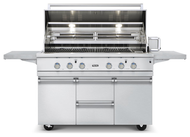 Viking 54 ultra premium gas grill vgbq outdoor grills for Viking professional outdoor grill