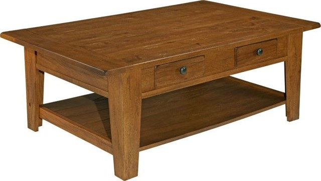 broyhill attic heirloom coffee table 2