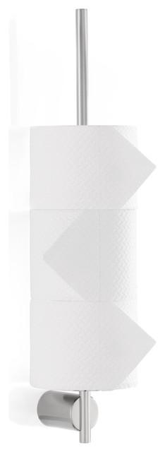 Blomus Duo Wall Mount Toilet Paper Holder Matte Modern