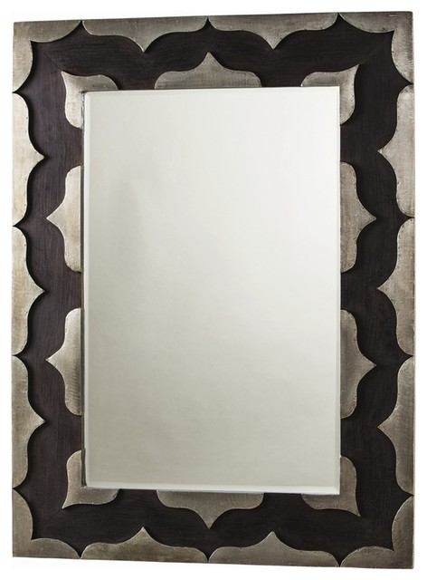 Arteriors 4111 halden large mirror contemporary wall for Large contemporary mirrors