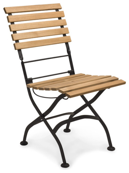 Teak Folding Chair With Cushions Gingko Contemporary Folding Garden Chai