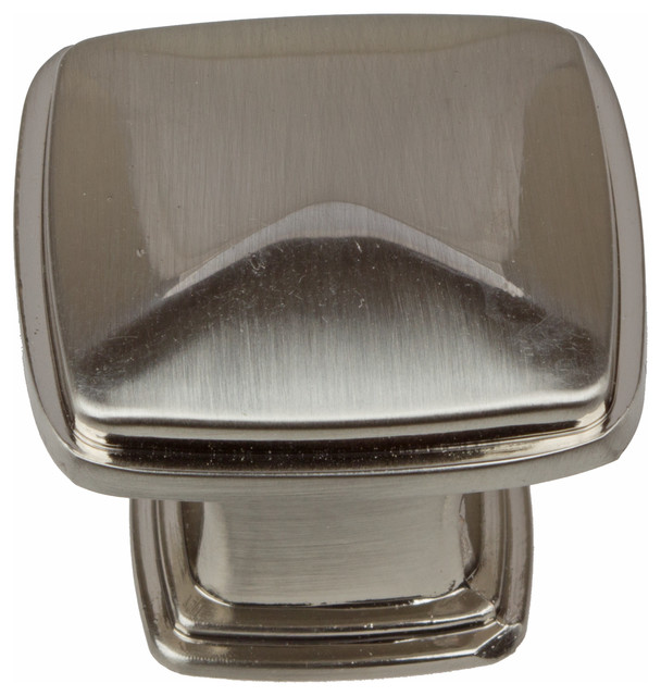 GlideRite Square Deco Cabinet Knob - Transitional - Cabinet And Drawer Knobs - by GlideRite Hardware